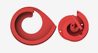 """Артикул ДЛ-10. Лекало для изготовления элементов ковки """"волюта"""" и """"завиток"""" в диаметре до 350 мм"""