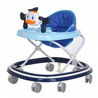 BAMBOLA Ходунки МАНДАРИНКА (7 силик.колес,игрушки,муз) 5 шт в кор.(64*56*52) DEEP BLUE Синий