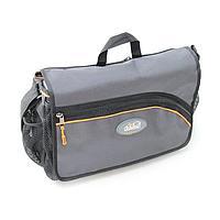 "Сумка рыболовная ""СЛЕДОПЫТ"" Street Fishing Bag, 30х38х16 см, цв. серый + 3 коробки (2 Luno 20/1 Luno"