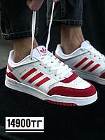 Кеды Adidas Drop Step бел крас 852-4, фото 1