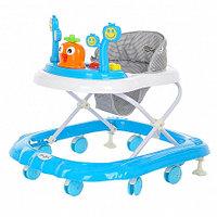 BAMBOLA Ходунки Рыжик (8 пласт.колес,игрушки,муз) 6 шт в кор.(71*60*60) Blue/Голубой, фото 1