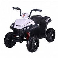 PITUSO Электроквадроцикл 6V/4.5Ah*2,40W*2,колеса EVA,MP3.,кож.сид.,амортиз.,86*56*66 см,Белый/WHITE, фото 1