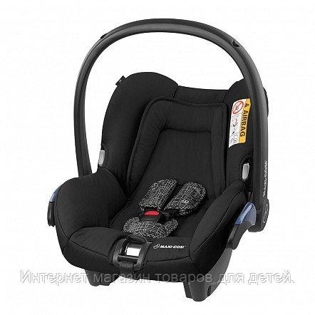 MAXI-COSI Удерживающее устройство для детей 0-13 MC CITI BLACKGRID черная сетка