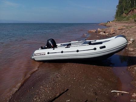 Лодка надувная REEF TRITON 390НД, фото 2
