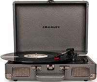 Проигрыватель виниловых дисков CROSLEY CRUISER DELUXE Slate c Bluetooth CR8005D-SG
