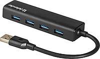 Разветвитель Defender Quadro Express USB3.0, 4 порта