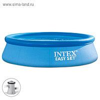 Бассейн надувной Easy Set, 305 х 76 см, фильтр-насос, 28122NP INTEX
