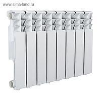 Радиатор Tropic 350x80 мм алюминиевый, 8 секций