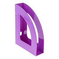 Лоток для бумаг вертикальный, 'Респект', фиолетовый VIOLET