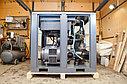 Винтовой компрессор 55 кВт, 8.7 м3, 10 Бар Crossair CA 55-10 GA, фото 6