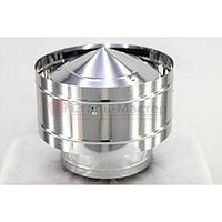 Оголовок-дефлектор К 115 / 200 нержавейка 0,5 мм