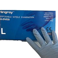 Перчатки нитриловые Hongray, размер S,M,L, 100шт/50пар