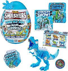 """Игрушка Zuru Smashers среднее яйцо динозавра """"Ледниковый период"""" (высота 17 см), 6 в асс."""