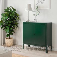 КОЛЬБЬЁРН Шкаф д/дома/сада, зеленый, 80x81 см, фото 2