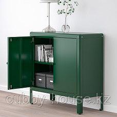 КОЛЬБЬЁРН Шкаф д/дома/сада, зеленый, 80x81 см, фото 3