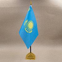 "Флаг настольный ""Казахстан"""