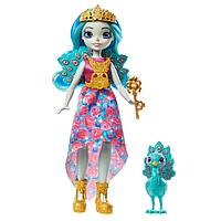 "Enchantimals Кукла ""Королева Павлин Парадайз и питомец Рейнбоу"""