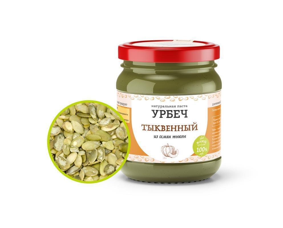 Питание при онкологии урбеч Тыквенный, 350 гр