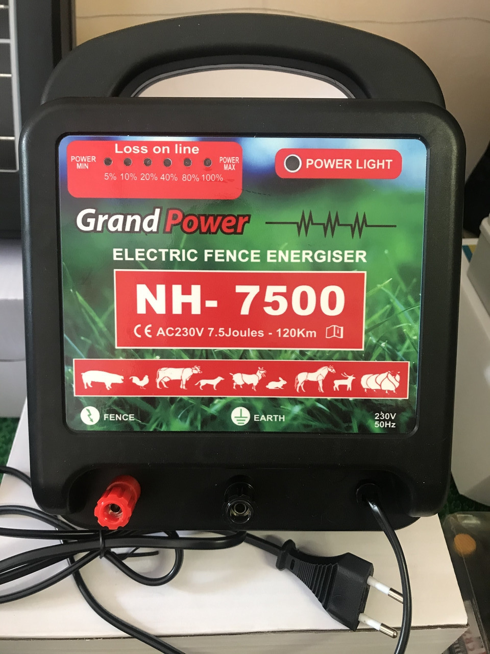 Электропастух Grand Power NH-7500