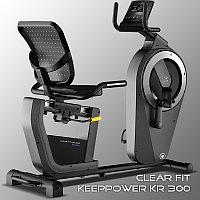 Горизонтальный велотренажер Clear Fit KeepPower KR 300, фото 1