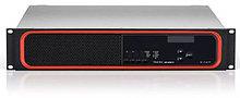 Цифровой усилитель, 4 канала по 300 Вт на 70/100 В. Подключение аудиосигналов через интерфейс AVB/TSN