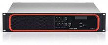 Цифровой усилитель, 8 каналов по 175 Вт на 4/8 Ом. Подключение аудиосигналов через интерфейс AVB/TSN