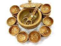 Кымыз набор Assyl Qazyna, 15 предметов