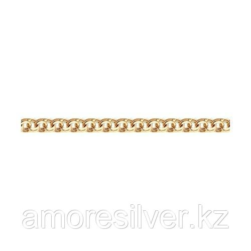 Браслет SOKOLOV серебро с позолотой, без вставок, бисмарк 985140804 размеры - 18 19 20 22