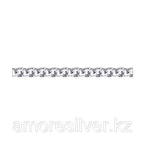 Браслет SOKOLOV серебро с родием, без вставок, бисмарк 965141004 размеры - 22
