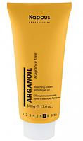 Обесцвечивающий крем для волос 500гр Kapous Arganoil с маслом арганы