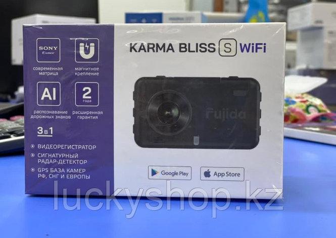 Fujida Karma Bliss S WiFi - видеорегистратор с GPS радар-детектором и WiFi-модулем, фото 2
