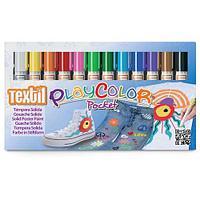 Набор цветных карандашей для ткани Instant 12 цветов по 5 г