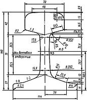 Рельсы Р43 длина 12,5 м, 25 м новые, б/у, с резерва
