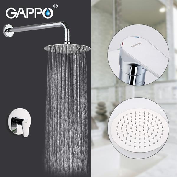 Встраиваемый душевой комплект GAPPO G7101