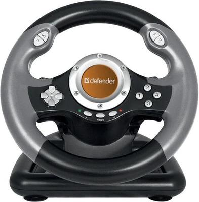 Руль игровой Defender Challenge Mini LE 64351 серый-черный