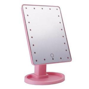 Зеркало косметическое для макияжа с LED подсветкой Magic Makeup Mirror (Розовый)