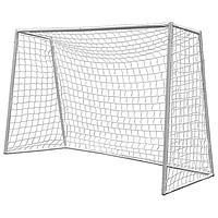 Футбольные ворота DFC GOAL180, 180 x 120 x 65 cм, с сеткой