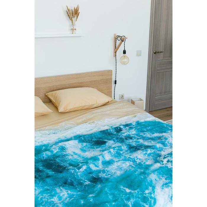 Постельное бельё 'Этель' евро Морская волна 200х217 см, 260*240 см, 50х70 см - 2 шт - фото 10