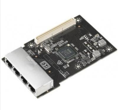Сетевой адаптер ASUS MCI-1G/350-4T, Intel I350-AM4, 4 порта 1000Base-T, интерфейс: PCIe 2.0 x4, поддержка загр