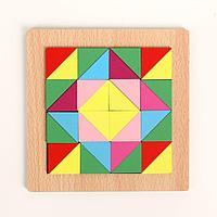 Головоломка 'Строй фигуры и узоры', треугольники