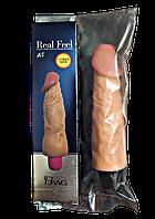 "Вибратор релистик Real Feel ""Настоящее Чувство"" - 15 см., фото 1"