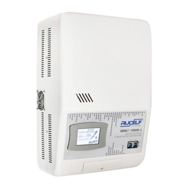 Настенный стабилизатор напряжения RUCELF сервоприводный SDW II-10000-L