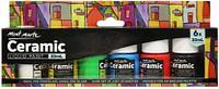 Краски для керамики Mont Marte, 6 цветов