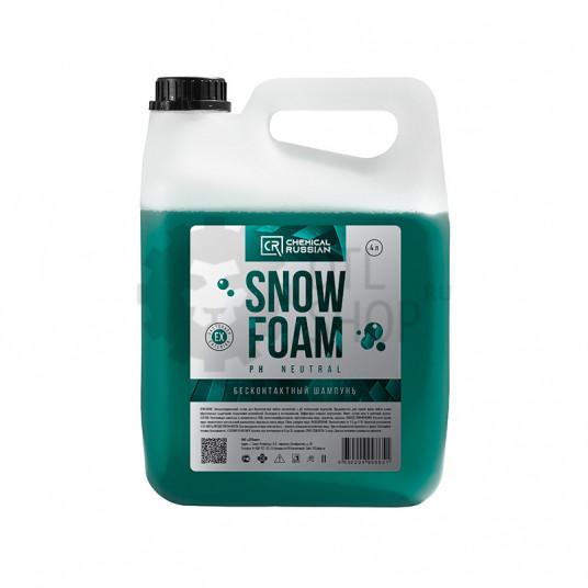 Snow Foam PreWash - РН нейтральный бесконтактный шампунь, 4 л, CR865, Chemical Russian