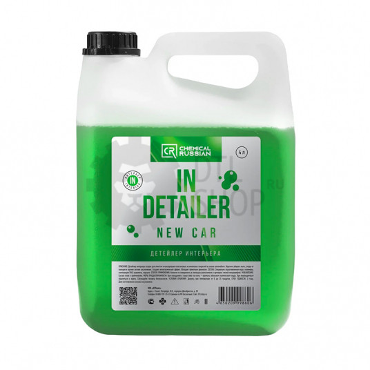 IN Detailer NEW CAR - Детейлер интерьера, 4 л, CR860, Chemical Russian