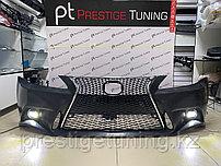 Передний бампер в сборе на Lexus IS 2006-12 дизайн F-sport