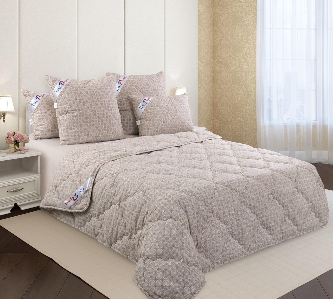 """ТексДизайн Одеяло льняное волокно всесезонное """"Лен + Хлопок"""" 140х205 см"""