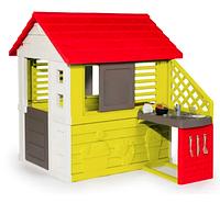 """Игровой домик с кухней (красный) """"Smoby"""", Франция, 810703"""