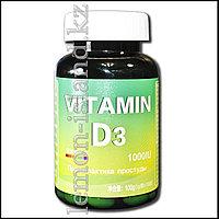 Витамин D3, 100 капсул по 1000 МЕ