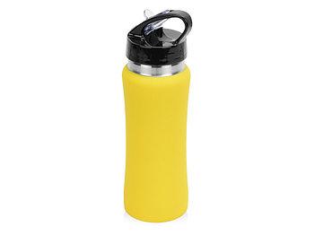 Бутылка спортивная Коста-Рика 600мл, желтый